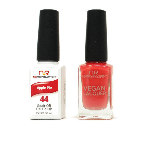 NuRevolution - Gel & Lacquer - Apple Pie - #44