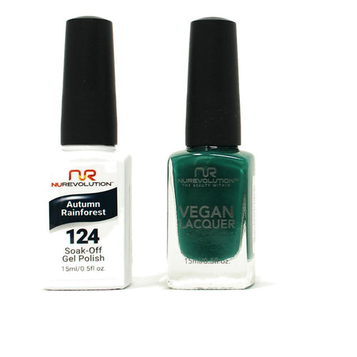 NuRevolution - Gel & Lacquer - Autumn Rainforest - #124