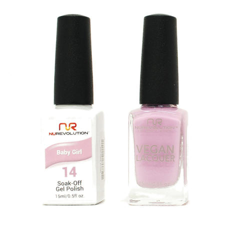 NuRevolution - Gel & Lacquer - Baby Girl - #14