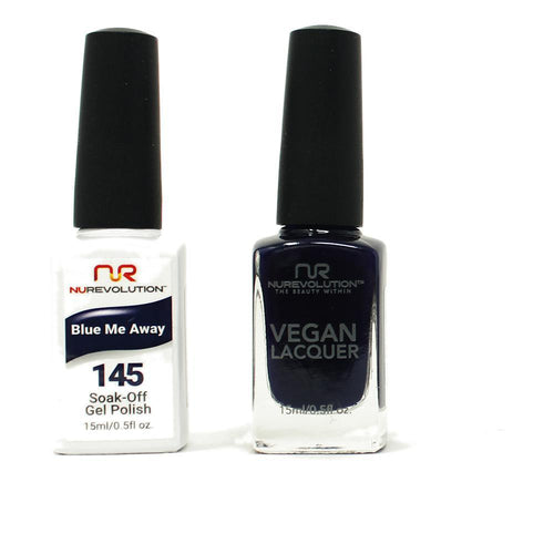 NuRevolution - Gel & Lacquer - Blue Me Away - #145