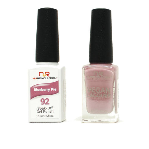 NuRevolution - Gel & Lacquer - Blueberry Pie - #92