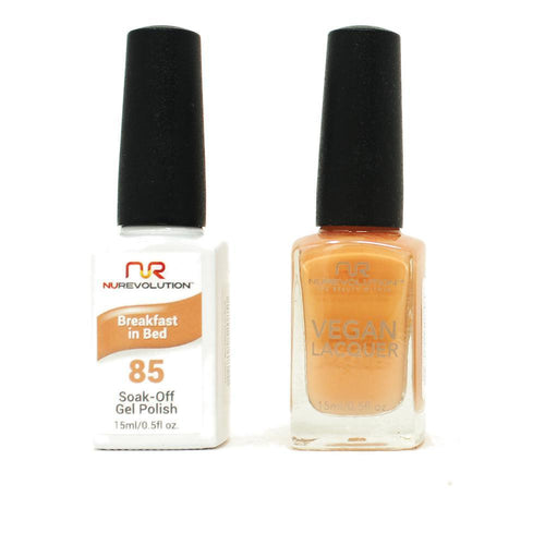 NuRevolution - Gel & Lacquer - Breakfast in Bed - #85