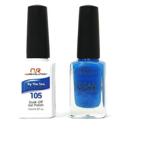 NuRevolution - Gel & Lacquer - By the Sea - #105