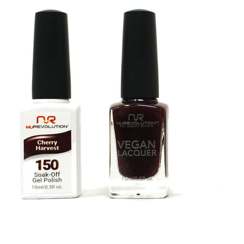 NuRevolution - Gel & Lacquer - Cherry Harvest - #150