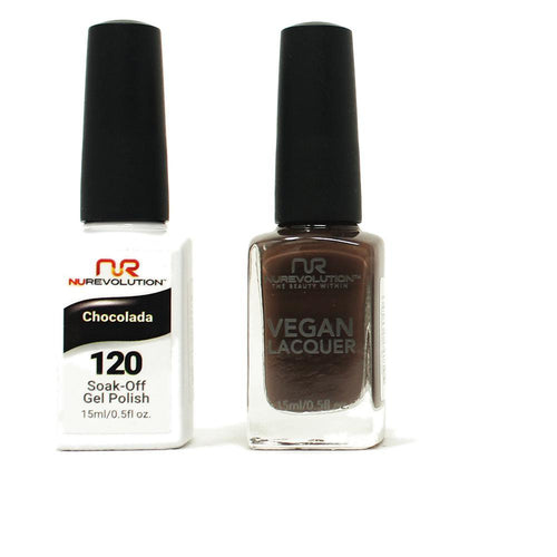 NuRevolution - Gel & Lacquer - Chocolada - #120