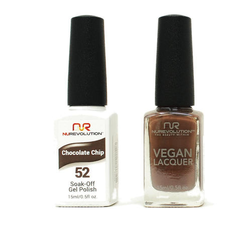 NuRevolution - Gel & Lacquer - Chocolate Chip - #52