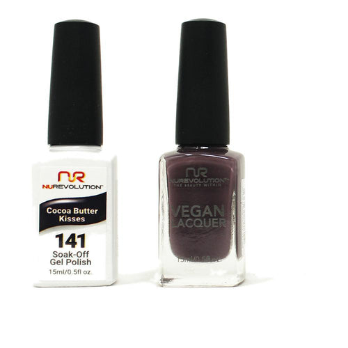 NuRevolution - Gel & Lacquer - Cocoa Butter Kisses - #141