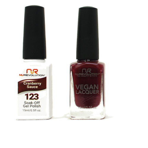 NuRevolution - Gel & Lacquer - Cranberry Sauce - #123