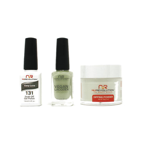 NuRevolution - Gel, Lacquer & Dip Combo - Easy Love - #131