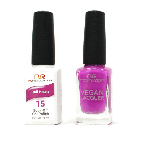 NuRevolution - Gel & Lacquer - Doll House - #15