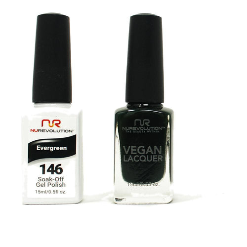 NuRevolution - Gel & Lacquer - Evergreen - #146
