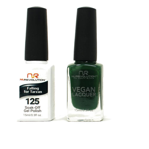 NuRevolution - Gel & Lacquer - Falling For Tarzan - #125