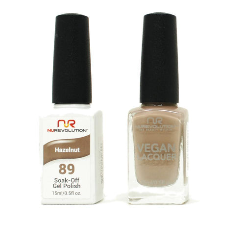 NuRevolution - Gel & Lacquer - Hazelnut - #89