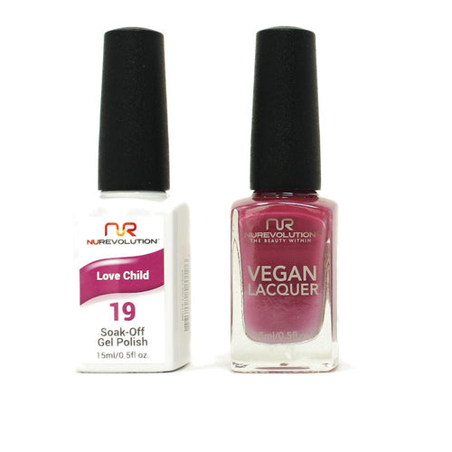 NuRevolution - Gel & Lacquer - Love Child - #19