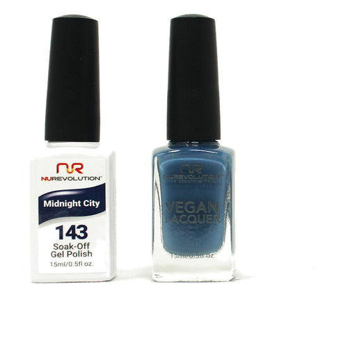 NuRevolution - Gel & Lacquer - Midnight City - #143