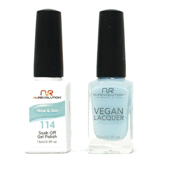 NuRevolution - Gel & Lacquer - Now & Zen - #114
