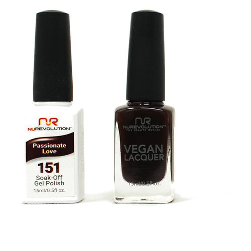 NuRevolution - Gel & Lacquer - Passionate Love - #151