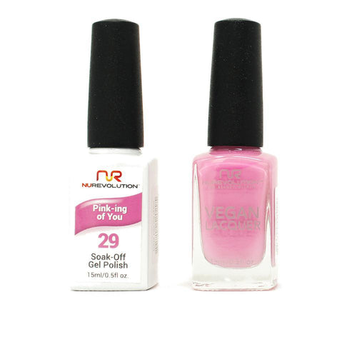 NuRevolution - Gel & Lacquer - Pink-ing of You - #29