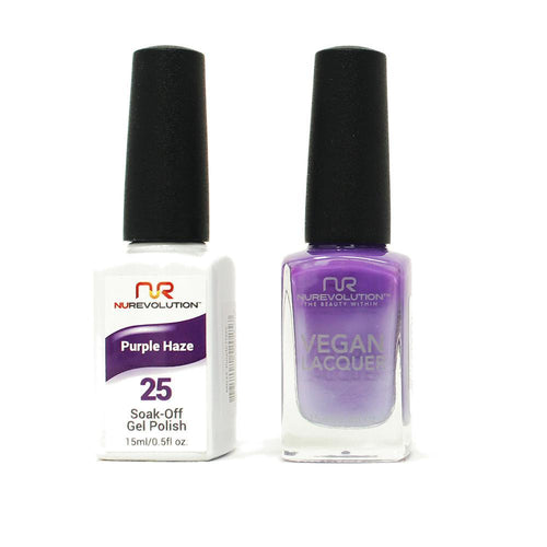 NuRevolution - Gel & Lacquer - Purple Haze - #25