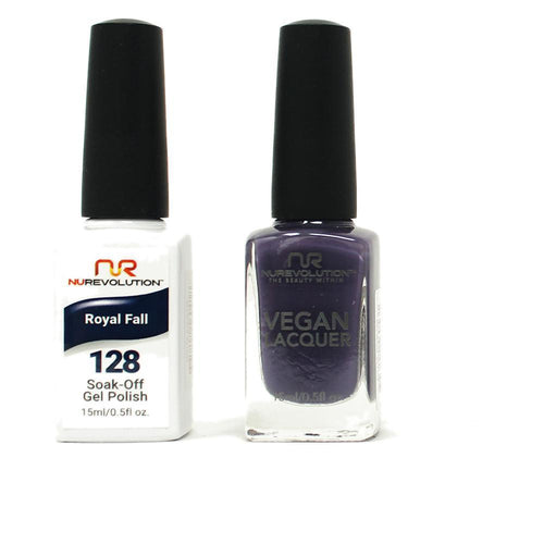 NuRevolution - Gel & Lacquer - Royal Fall - #128