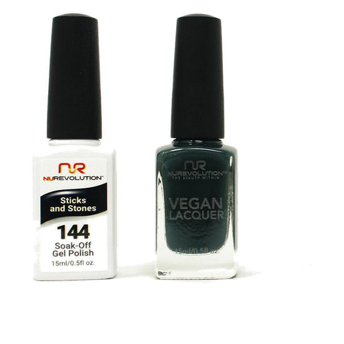 NuRevolution - Gel & Lacquer - Stick and Stones - #144
