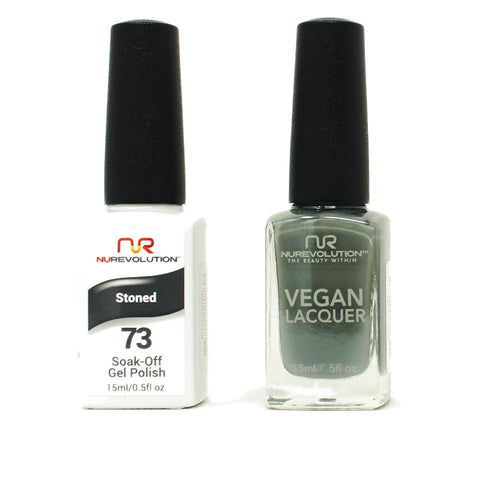 NuRevolution - Gel & Lacquer - Stoned - #73
