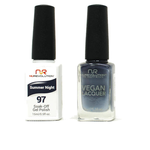 NuRevolution - Gel & Lacquer - Summer Night - #97