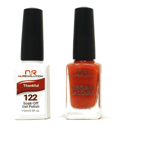 NuRevolution - Gel & Lacquer - Thankful - #122