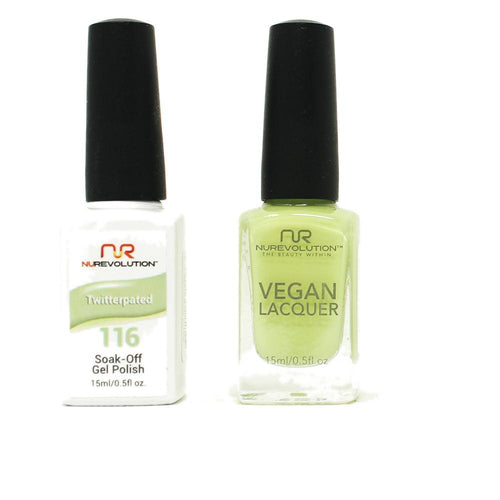 NuRevolution - Gel & Lacquer - Twitterpated - #116