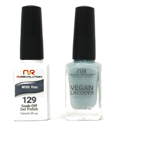 NuRevolution - Gel & Lacquer - With You - #129