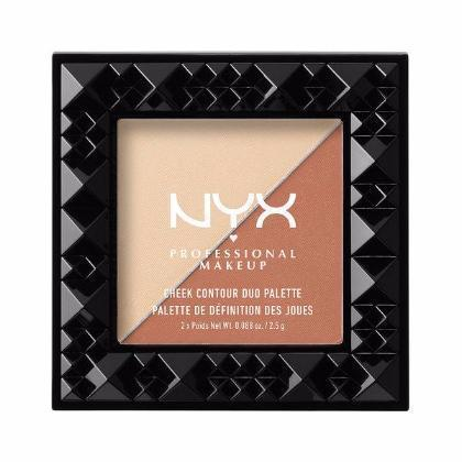 NYX Cheek Contour Duo Palette - Perfect Match - #CHCD03