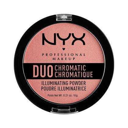 NYX Duo Chromatic Illuminating Powder - Crushed Bloom - #DCI03