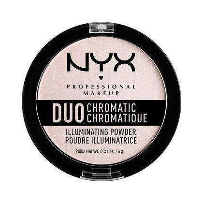 NYX Duo Chromatic Illuminating Powder - Snow Rose - #DCI04