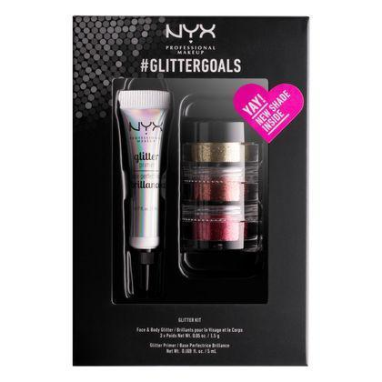 NYX #GLITTERGOALS - Kit 2 - #GLISET02