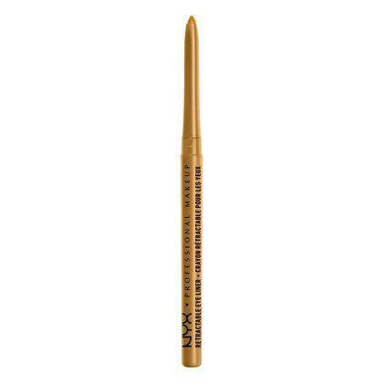 NYX Retractable Eye Liner Pencil - Gold - #MPE06