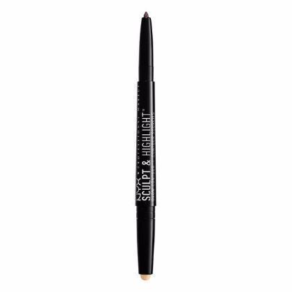 NYX Sculpt & Highlight Brow Contour - Taupe / Vanilla - #SHBC02