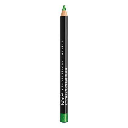 NYX Slim Eye Pencil - Green Glitter - #SPE939