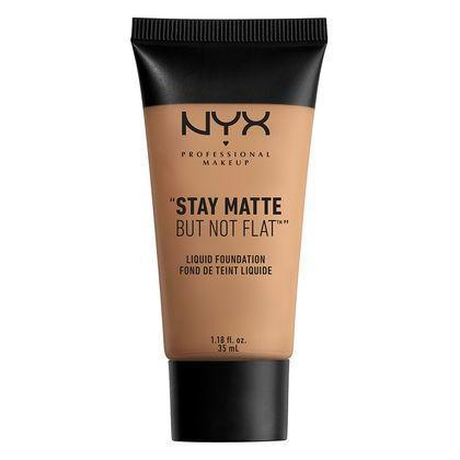 NYX Stay Matte But Not Flat Liquid Foundation - Cinnamon Spice - #SMF13