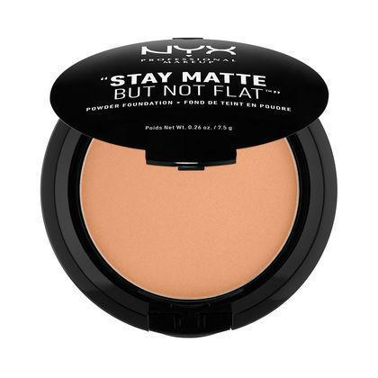 NYX Stay Matte But Not Flat Powder Foundation - Tawny - #SMP12