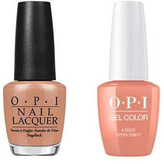 OPI - Gel & Lacquer Combo - A Great Opera-tunity