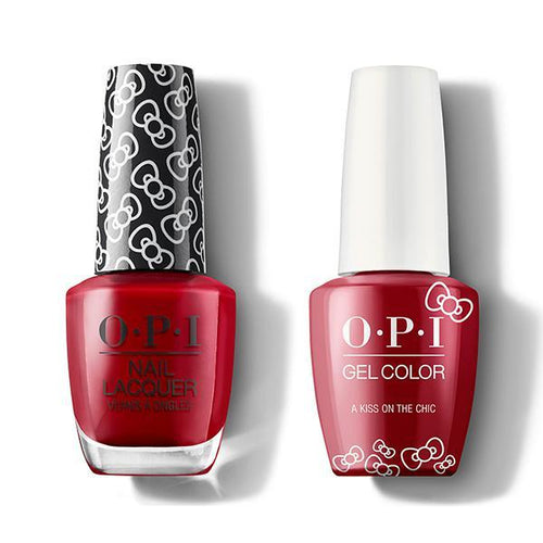 OPI - Gel & Lacquer Combo - A Kiss On The Chic