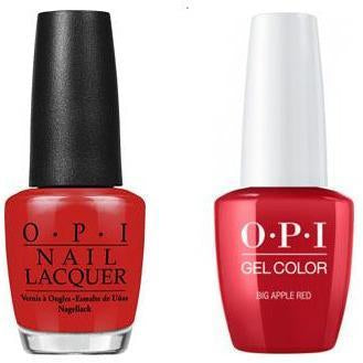 OPI - Gel & Lacquer Combo - Big Apple Red