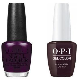 OPI - Gel & Lacquer Combo - Black Cherry Chutney
