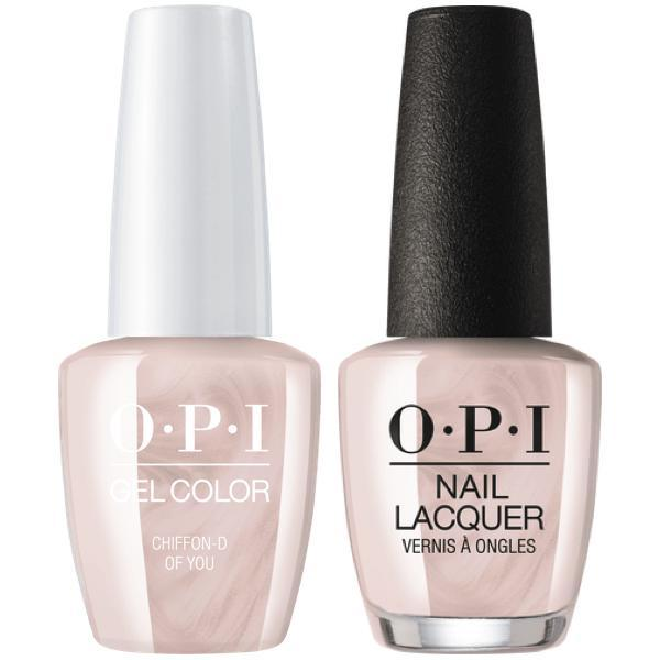OPI - Gel & Lacquer Combo - Chiffon-d of You