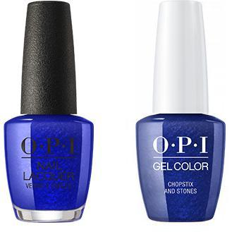 OPI - Gel & Lacquer Combo - Chopstix and Stones