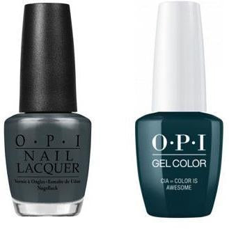 OPI - Gel & Lacquer Combo - CIA = Color Is Awesome