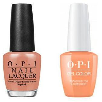 OPI - Gel & Lacquer Combo - Crawfishin' for a Compliment