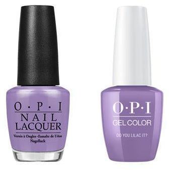 OPI - Gel & Lacquer Combo - Do You Lilac It?