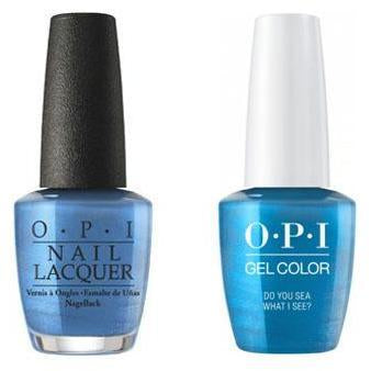 OPI - Gel & Lacquer Combo - Do You Sea What I Sea?