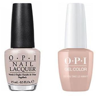 OPI - Gel & Lacquer Combo - Do You Take Lei Away?